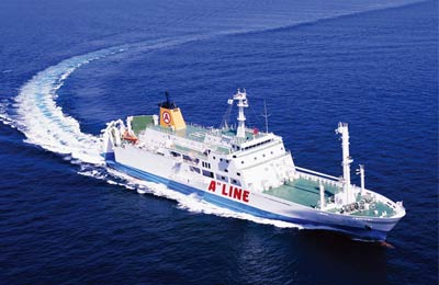 A Line ferries
