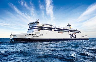 P&O Ferries Vracht