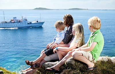 Isles of Scilly Ferry Travel